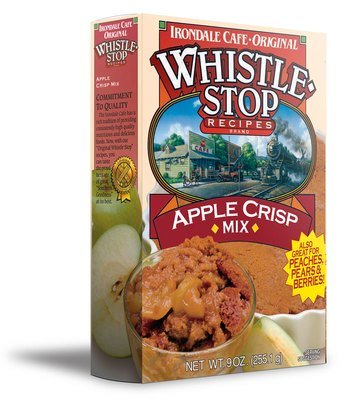 Original WhistleStop Cafe Recipes | Apple Crisp Batter Mix | 9-oz | 1 Box