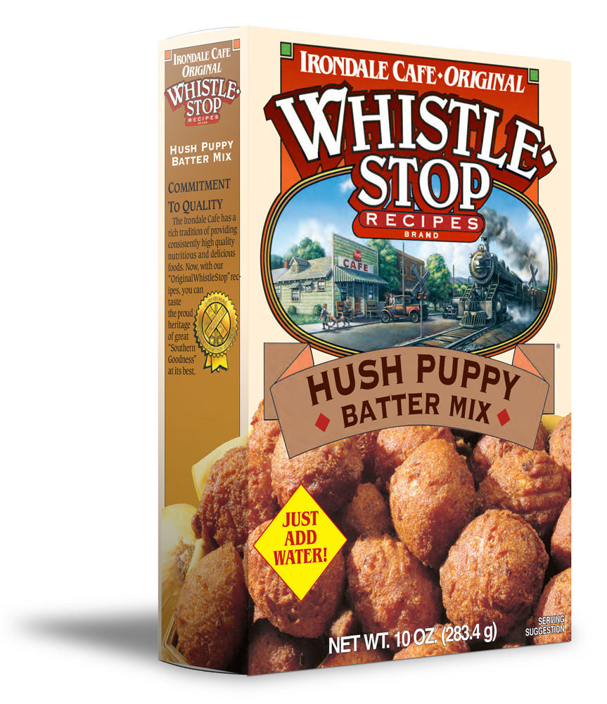 Original WhistleStop Cafe Recipes | Hush Puppy Batter Mix | 10-oz | 1 Box