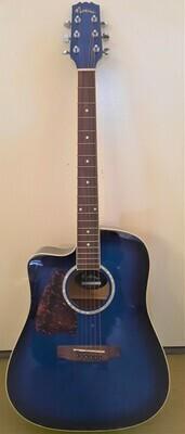 Guitar LEFT HANDED Full Body Steel
