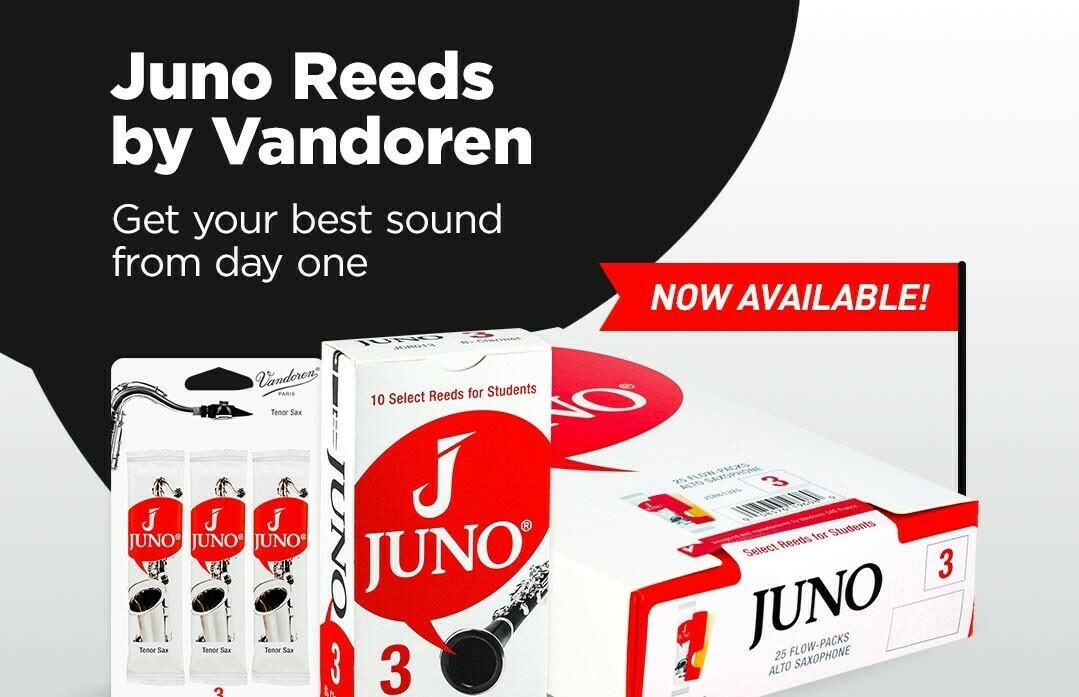 Clarinet Reeds Juno by Vandoren for Bb