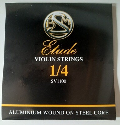 Violin Strings - Etude 1/4 Size - Full Set