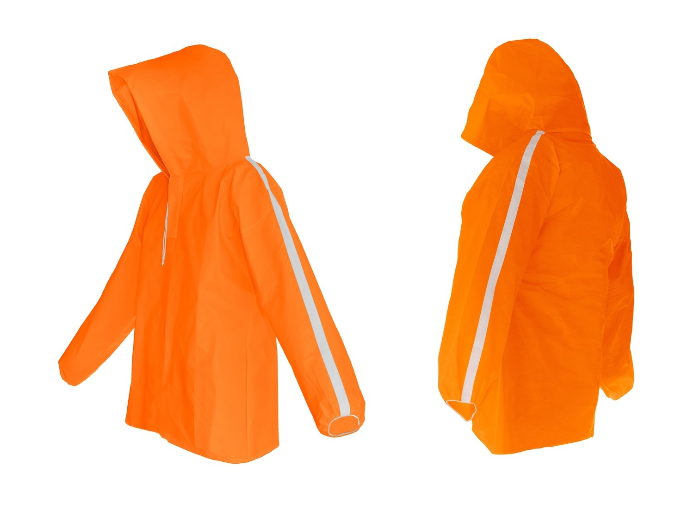 AllWeatherWare Waterproof Pullover For Men & Women    Orange