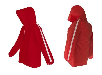 AllWeatherWare Waterproof Pullover For Men & Women  | Red