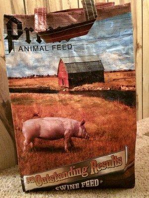 Market Bag (Pig)