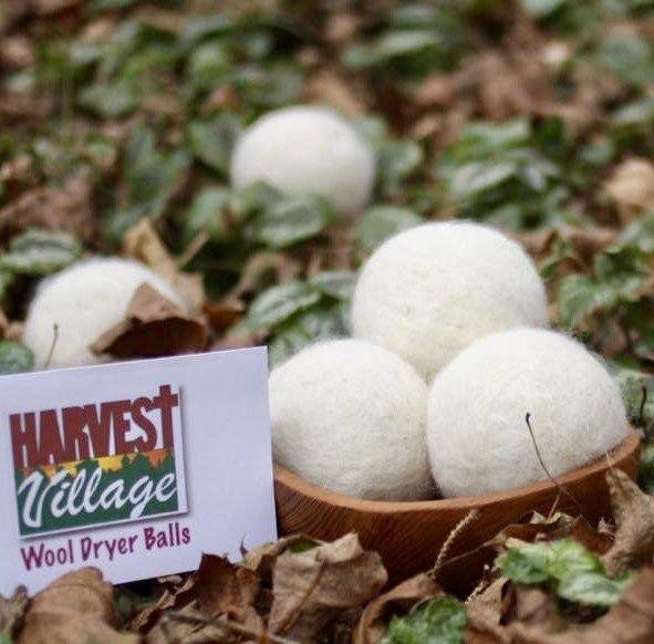 Virgin Wool Dryer Balls (set of 3)