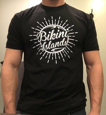 Black / White Splash Logo Tee Shirt
