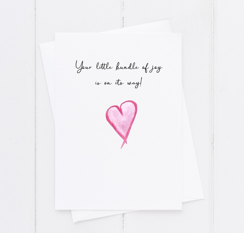 Your little bundle of joy is on its way!