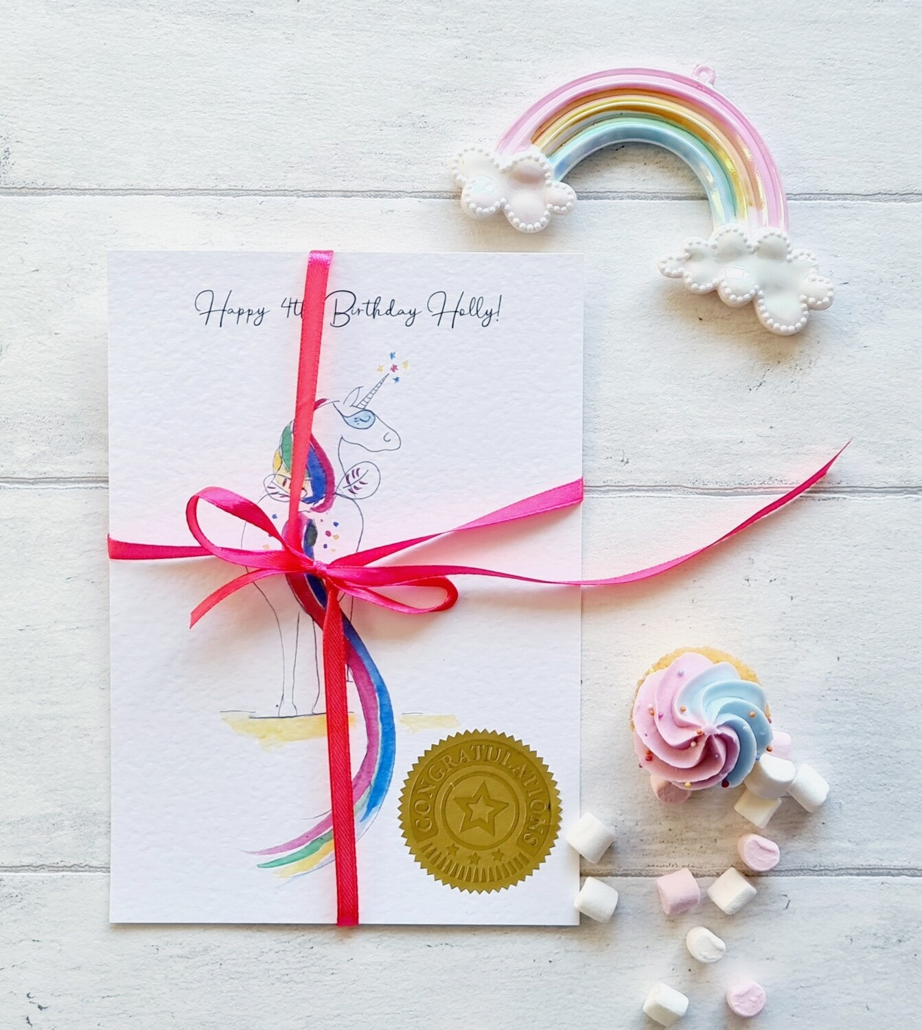 Surprise Birthday Letter/Certificate