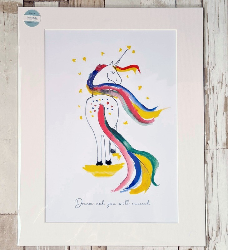 Dream and You will Succeed Print
