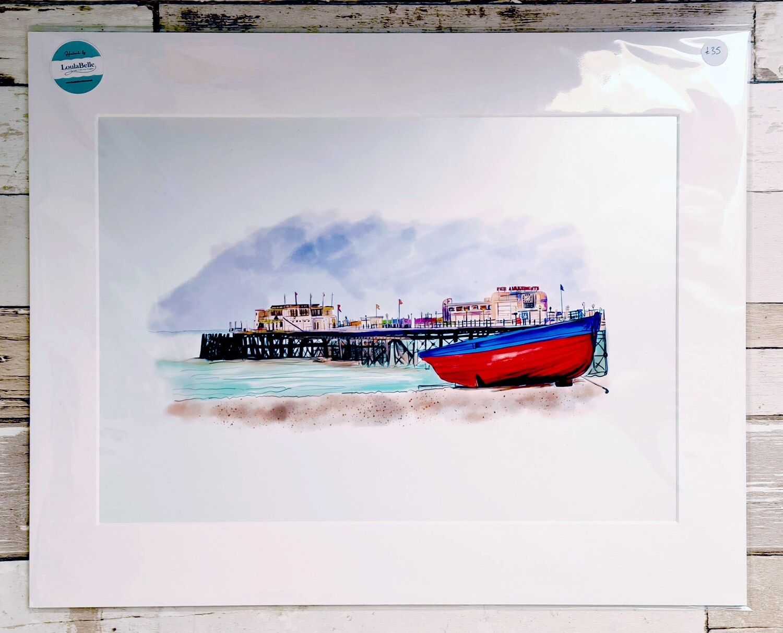Worthing Pier Print