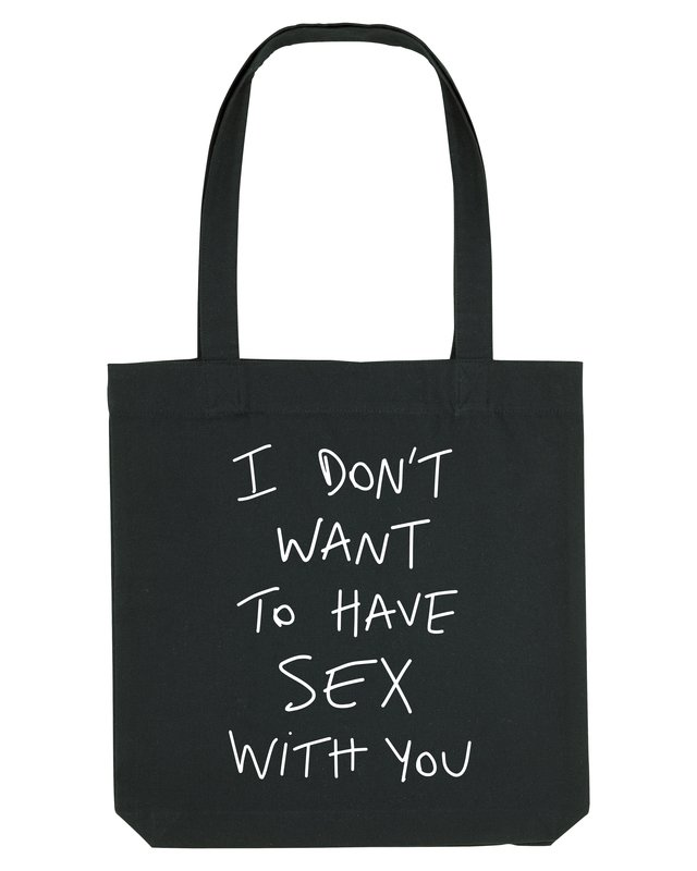 SEX - TOTE BAG - BLACK