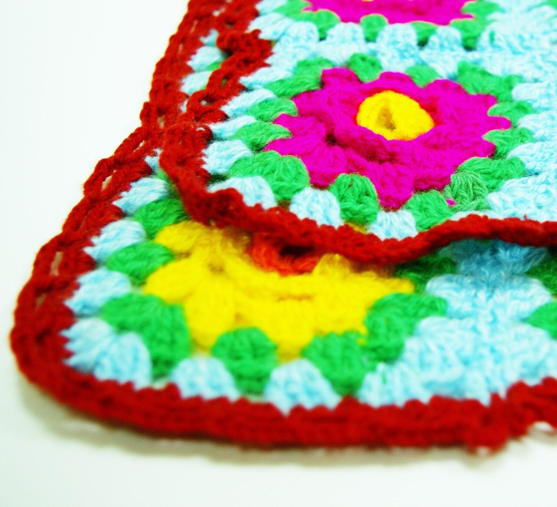 """Knitted rug """"Gabijamal"""""""
