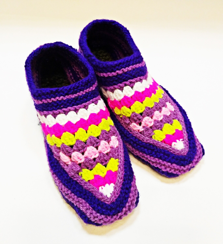 "Knit indoor slippers ""Jamilya 7"" adults"