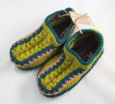 """Knit indoor slippers """"Abiem 2"""" adults"""