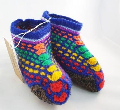 "Knit indoor slippers ""Balam"", kids"