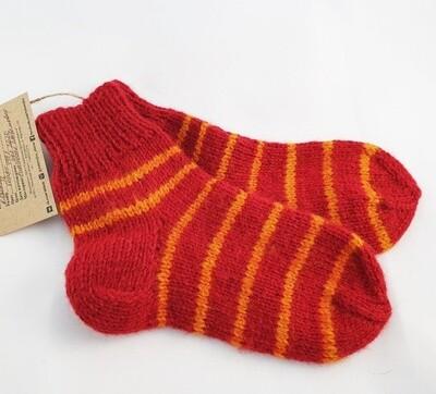 "Hand knit socks ""Balam"", kids"
