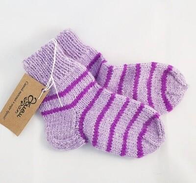 """Hand knit socks """"Bakam 2"""", kids"""