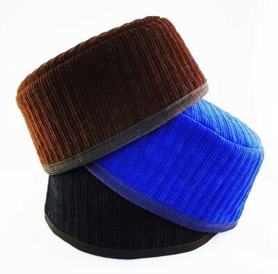 "Tubeteika (scull cap) kalyapush velvet ""Tugan"""