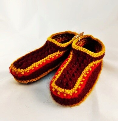 """Knit indoor slippers """"Abiem 5"""" adults"""