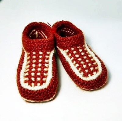 "Knit indoor slippers ""Abiem""  kids"