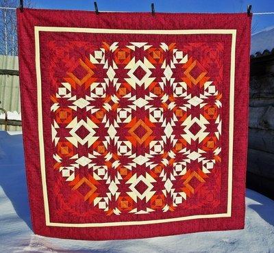 Лоскутное одеяло/панно/накидка