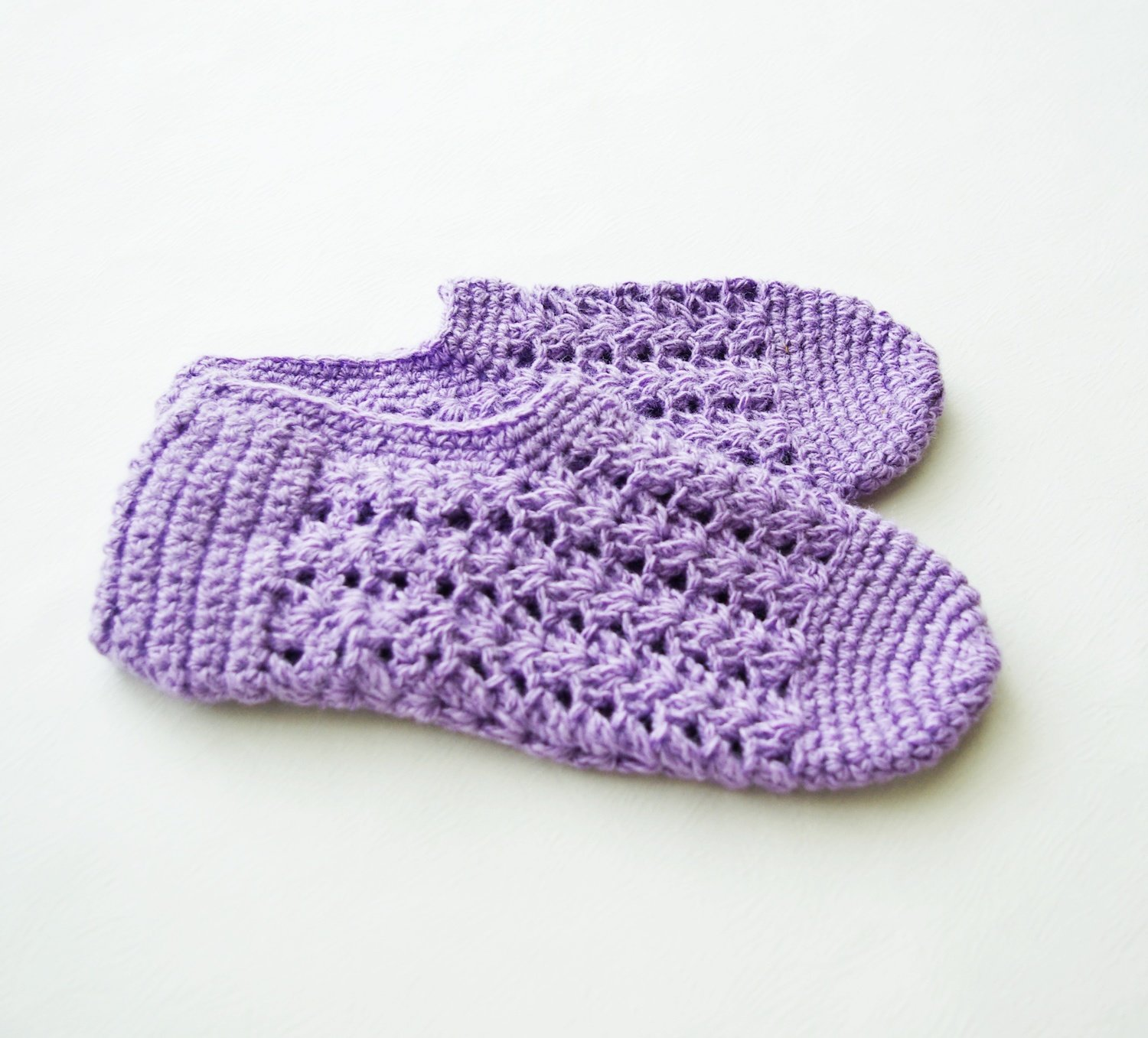 "Knit indoor slippers ""Zaituna 8"", adults"