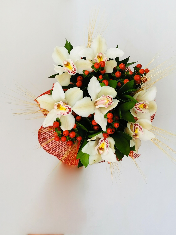 Bouquet Orchidee Bianche Viaggio