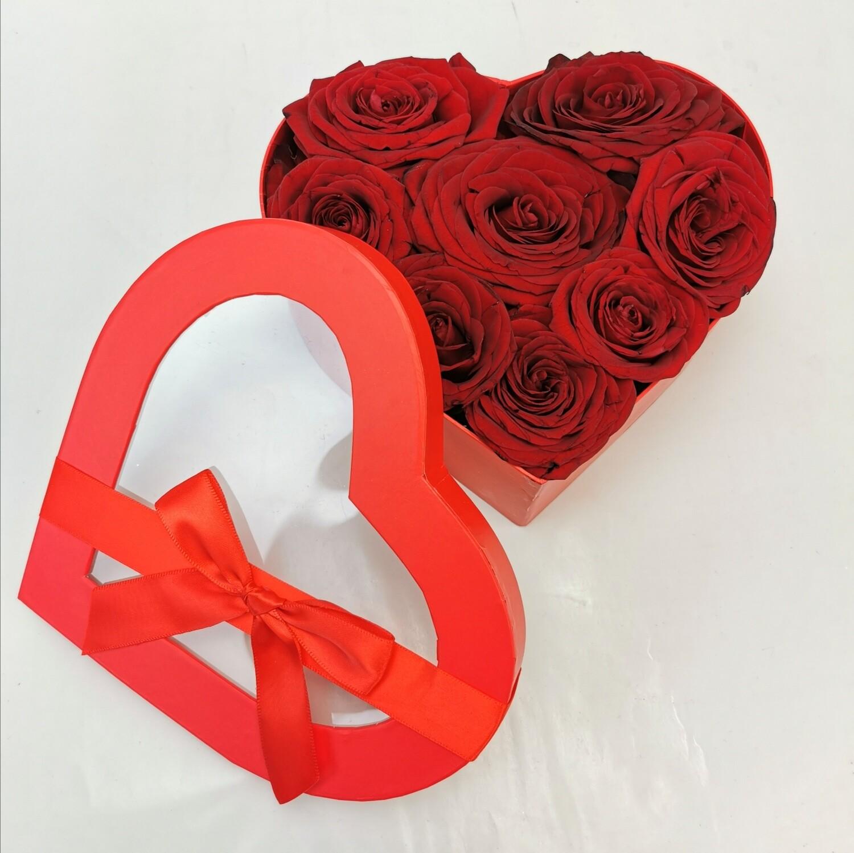 Flower Love Box Rossa tg M