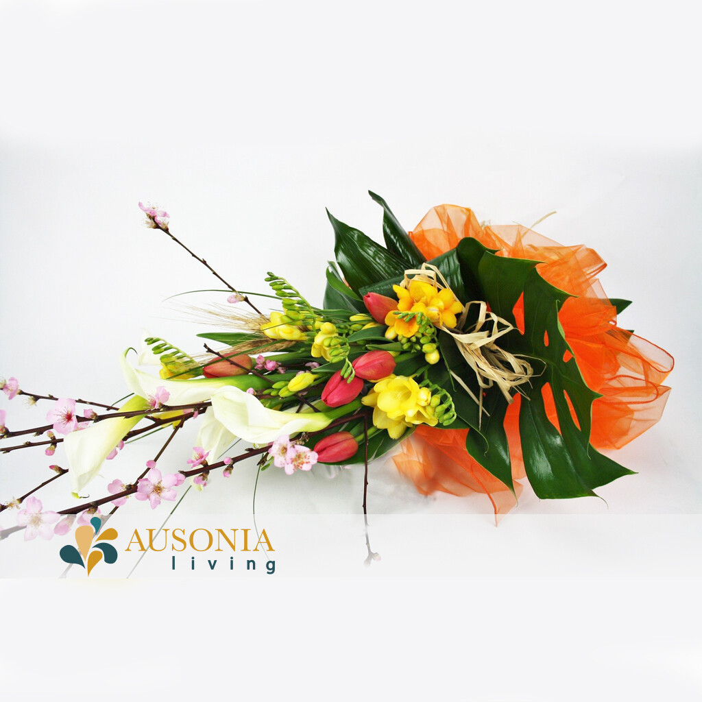 Bouquet Peach Flower