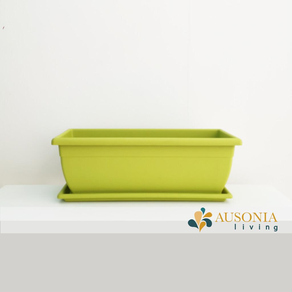 Balconetta – Fioriera per balcone Verde Acido 50cm