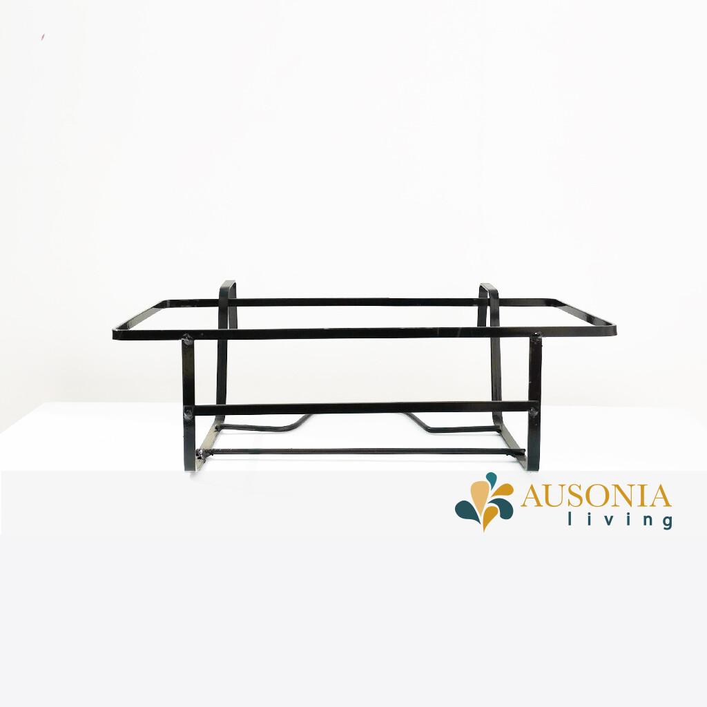 BALCONIERA - PORTA  BALCONETTA NERO 50cm
