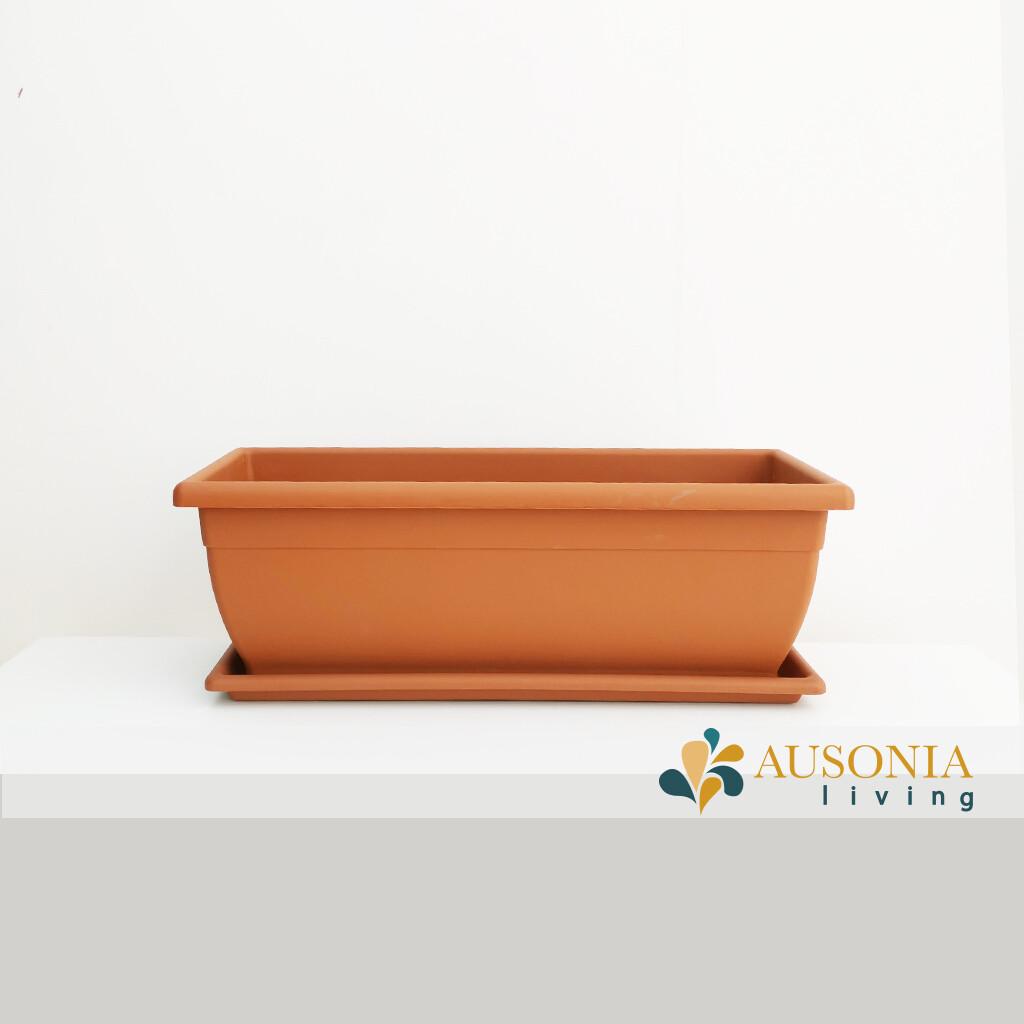 Balconetta – Fioriera per balcone Terracotta 50cm