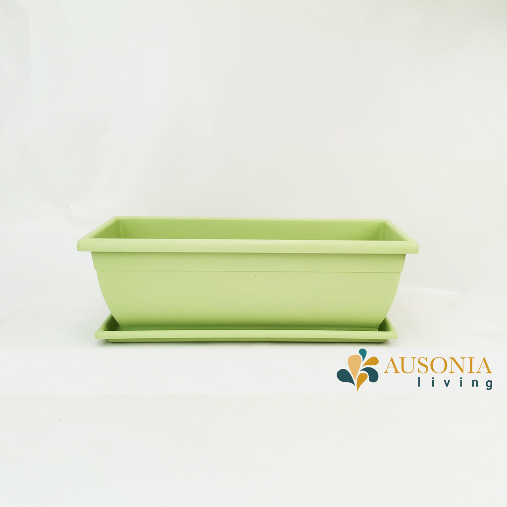 Balconetta – Fioriera per balcone Verde Salvia 50cm