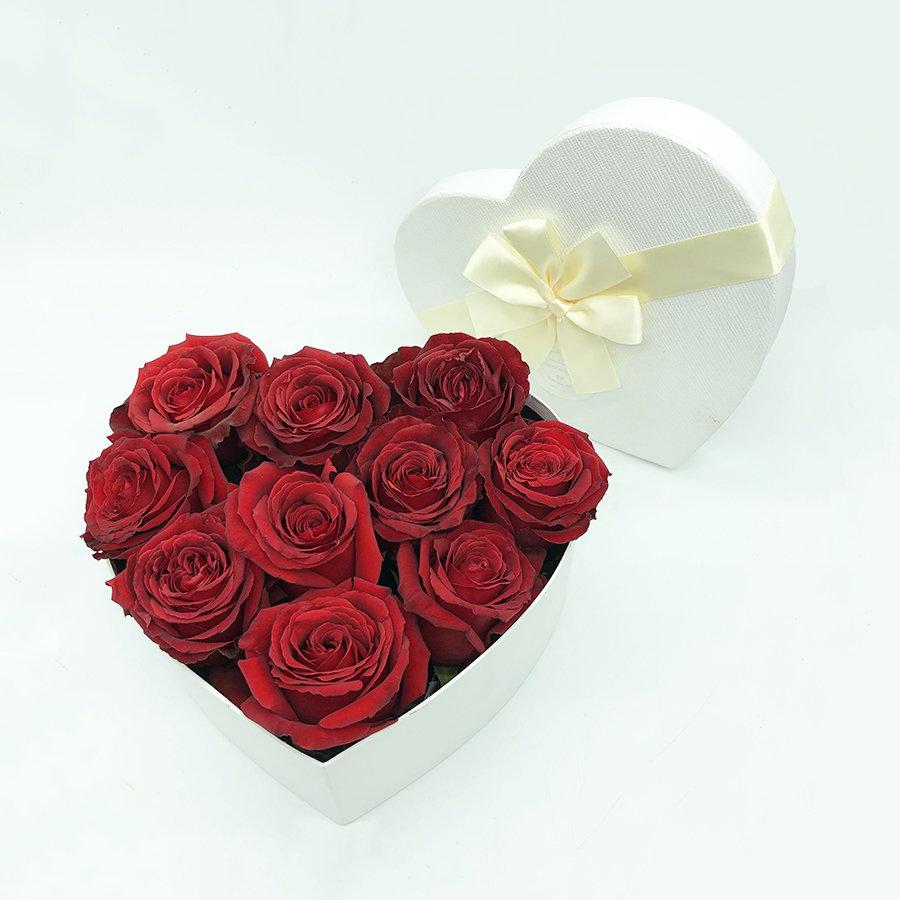 Flower Love Box Bianca tg L