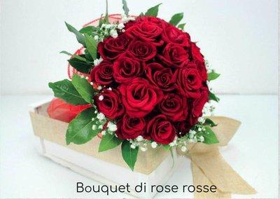Bouquet Laurea Rose Rosse