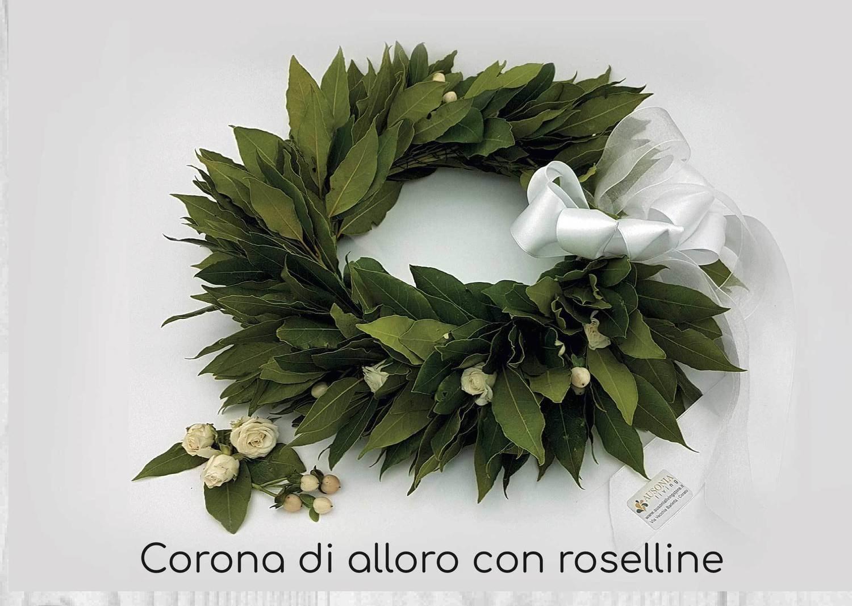 Coroncina Laurea Roselline