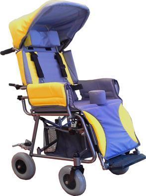 Кресло-коляска модели «КАМ-01; 02; 03» прогулочное, облегченное, для детей с заболеванием  ДЦП от 2-х до 15-ти лет