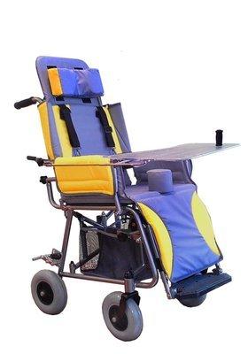 Кресло-коляска  «КАМ-01; 02; 03» комнатное, облегченное, для детей с заболеванием  ДЦП от 2-х до 15-ти лет