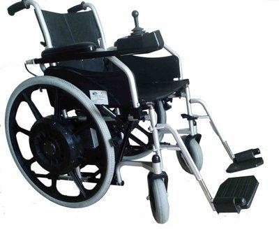 Кресло-коляска с электроприводом и ручным управлением для инвалидов     КАР-4.1