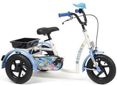 Реабилитационный ортопедический велосипед для детей с ДЦП Vermeiren Aqua