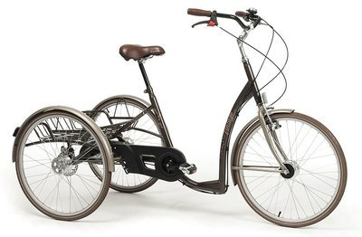 Трехколесный велосипед для инвалидов взрослых и детей с ДЦП Vermeiren Vintage