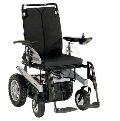 Инвалидная коляска с электроприводом B500, грузоподъемность до 140 кг.