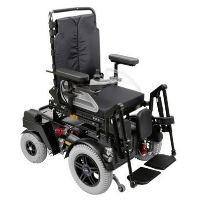 Кресло-коляска с электроприводом С1000, грузоподъемность до 200 кг.