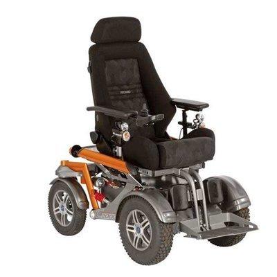 Кресло-коляска с электроприводом С2000, грузоподъемность 160-200 кг.