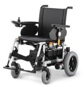 Кресло-коляска складная, с электроприводом, 43 см.  Meyra  9.500 CLOU  STANDART