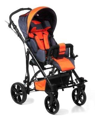 JUNIOR PLUS – коляска инвалидная для детей больных ДЦП литые колёса