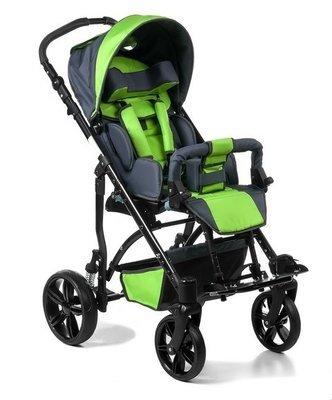 JUNIOR – коляска инвалидная для детей больных ДЦП литые колеса
