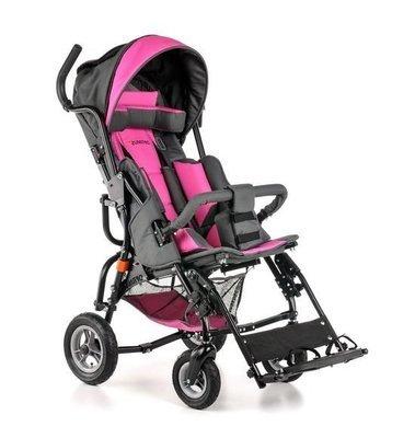 OPTIMUS -коляска инвалидная для детей больных ДЦП. Грузоподъёмность до 60 кг! литые колёса
