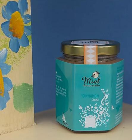 7.5oz Infusion Honey - CINNAMON (Infusión de Miel con Canela)