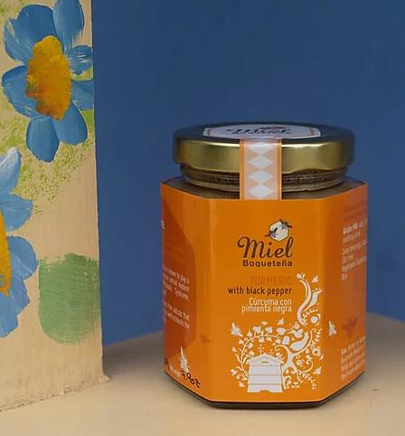 7.5oz Infusion Honey - TURMERIC (Infusión de Miel con Cúrcuma)